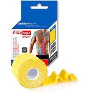 FIXAtape Kinesio Standard 5cm × 5m Yellow 1 piece