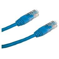 Datacom, CAT6, UTP, 0,25 m, modrý - Sieťový kábel