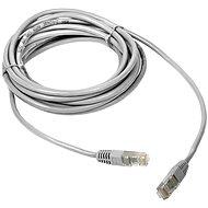 Sieťový kábel DATACOM Patch cord UTP CAT5E 2 m biely - Síťový kabel