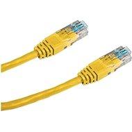 Datacom CAT5E UTP žltý 2 m