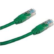 Datacom CAT5E UTP zelený 2 m