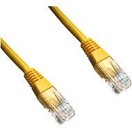 Datacom, CAT6, UTP, 2 m, žltý