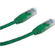 Datacom CAT5E UTP zelený 3 m