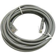 Datacom, CAT5E, UTP, sivý, 5 m - Sieťový kábel