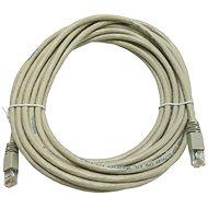 Datacom, CAT5E, UTP, šedý 7 m - Sieťový kábel