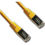 Datacom, CAT5E, FTP, 0,5 m, žltý - Sieťový kábel