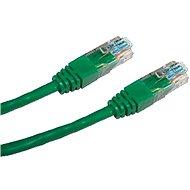 Datacom CAT5E UTP zelený 0,25 m - Sieťový kábel