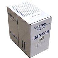 Datacom, drôt, CAT5E, FTP, PE vonkajší, 305 m/box - Sieťový kábel