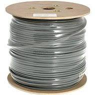 Datacom, drôt, CAT6, UTP, PVC, 500 m/cievka - Sieťový kábel
