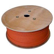 Datacom, drôt, CAT7, LSOH, S/FTP, oranžový plášť, 500m/box - Sieťový kábel