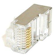 ROLINE 10-Pack, RJ45, CAT5, STP, 8p8c, geschirmt, für Kabel - Konektor