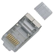 10-pack, Datacom, RJ45, CAT6, STP, 8p8c, tienený, na drôt - Konektor