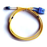 DATACOM LC-SC 09/125 SM 1m duplex - Optický kábel