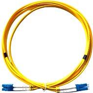 DATACOM LC-LC 09/125 SM 2 m duplex - Optický kábel