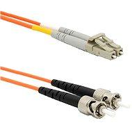 DATACOM LC-ST 62.5/125 MM 2 m duplex - Optický kábel