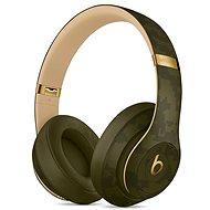Beats Studio3 Wireless Headphones – Beats Camo Collection – lesná zelená