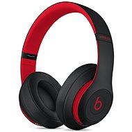 Beats Studio3 Wireless: The Beats Decade Collection – vyvzdorovaná čierno-červená - Bezdrôtové slúchadlá