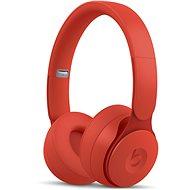 Bezdrôtové slúchadlá Beats Solo Pro Wireless – More Matte Collection – červené