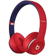 Beats Solo3 Wireless - Beats Club Collection - Club červené