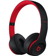 Beats Solo3 Wireless – vyvzdorované čierno-červené - Slúchadlá