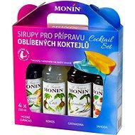 MONIN COCKTAIL BOX 4 x 0,25 l sirup - Sirup