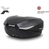 SHAD Vrchný kufor na motorku SH58X karbón (rozšíriteľný koncept) - Moto kufor