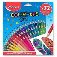 Maped Color' Peps trojhranné 72 farieb
