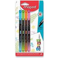 Maped Graph Peps Deco v pastelových farbách, 4 farby