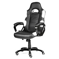 MERCURY STAR Silverstone čierno/biela - Kancelárska stolička