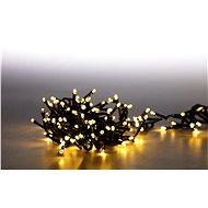 Marimex Reťaz svetelná 400 LED dvojitá 4 m – teplá biela - Vianočné osvetlenie