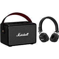 Marshall KILBURN II čierny + Major III Bluetooth čierne - Set