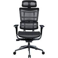 MOSH BS-801 sivá - Kancelárska stolička