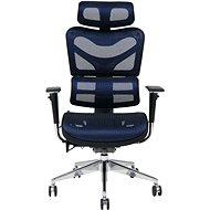 MOSH BS-702 modrá - Kancelárska stolička