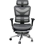 MOSH BS-702L čierno/biela - Kancelárska stolička