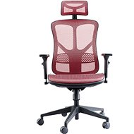 MOSH AIRFLOW-526 červená - Kancelárska stolička