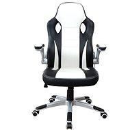 MOSH 2663 čierno/biele - Kancelárske kreslo