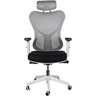 MOSH BS-301 čierno/biela - Kancelárska stolička