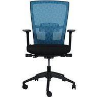 MOSH BS-201 tyrkysová - Kancelárska stolička