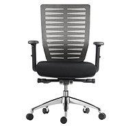 MOSH BS-401 sivá - Kancelárska stolička