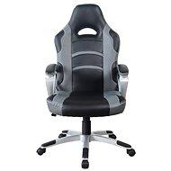 MOSH 8087 černo/sivé - Kancelárske kreslo