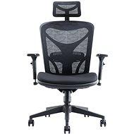 MOSH AIRFLOW-601 čierna - Kancelárska stolička