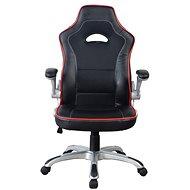 MOSH 8134 čierno/červené - Kancelárske kreslo
