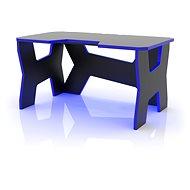 MOSH s modrým LED podsvietením - Herný stôl