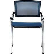 MOSH 1606 modrá 2 ks - Konferenčná stolička