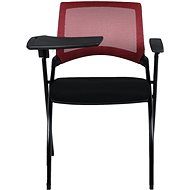 MOSH 1509 červeno/čierna 2 ks - Konferenčná stolička