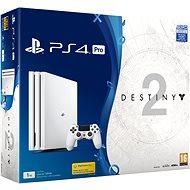 PlayStation 4 Pro 1 TB - Glacier White + Destiny 2 - Herná konzola