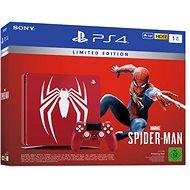 PlayStation 4 1 TB Slim Spider – Man Limited Edition - Herná konzola