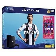 PlayStation 4 Pro 1 TB + FIFA 19 - Herná konzola