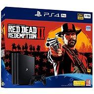 PlayStation 4 Pro 1 TB + Red Dead Redemption 2 - Herná konzola