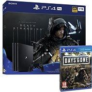 PlayStation 4 Pro 1 TB + Death Stranding + Days Gone